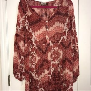 Show me your Mumu. Red Orange white Sienna swing S